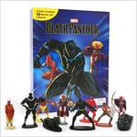 My Busy Book : Marvel Black Panther 마블 블랙팬서 비지북 (미니피규어 10개 + 놀이판)