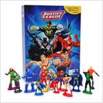 My Busy Book : DC Justice League DC 코믹스 저스티스 리그 비지북 (미니피규어 12개 + 놀이판)