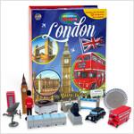 Around the World My Busy Book : London 세계 도시 비지북 런던 (미니피규어 12개 + 놀이판)