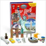 Around the World My Busy Book : New York 세계 도시 비지북 뉴욕 (미니피규어 12개 + 놀이판)