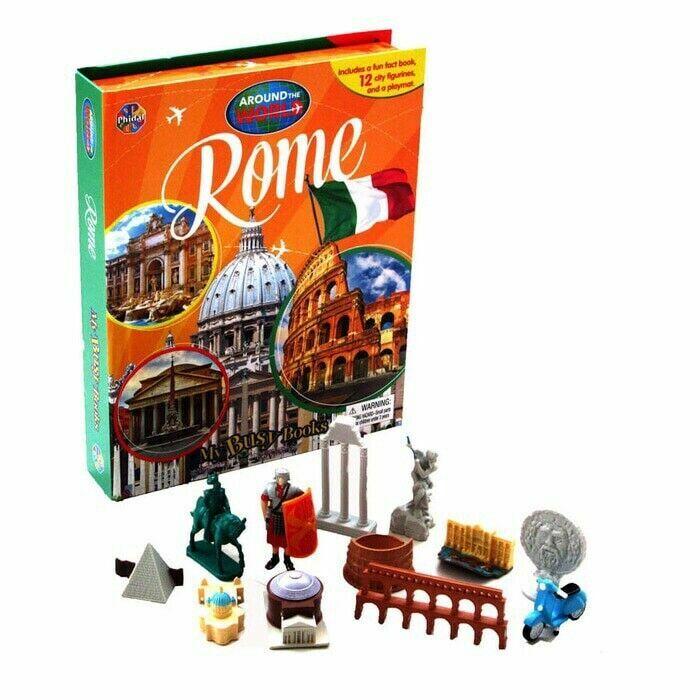 Around the World My Busy Book : Rome 세계 도시 비지북 로마