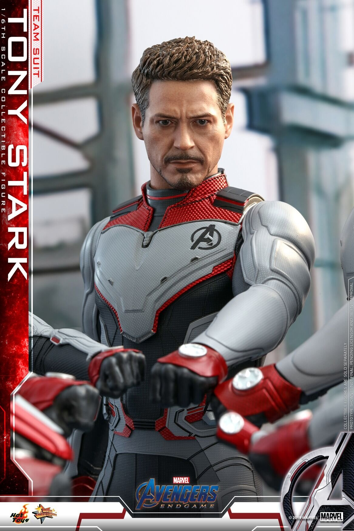 [Hot Toys] 어벤져스 : 엔드게임 토니스타크 팀수트 에디션 MMS537 1/6th scale Tony Stark (Team Suit) Collectible Figure