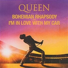 [수입] Queen - Bohemian Rhapsody b/w I'm In Love With My Car [7