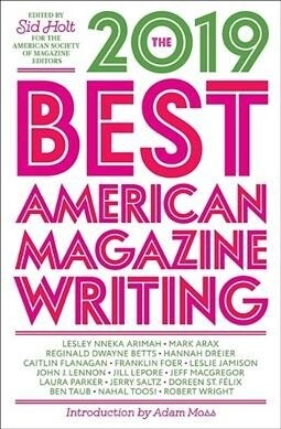 The Best American Magazine Writing 2019 (Paperback)