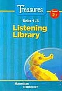 Treasures Grade 2.1: Audio CD (3 CDs Only)