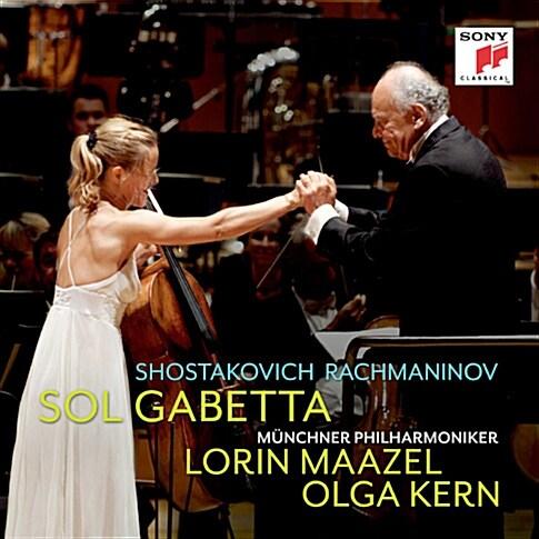 가베타 - 쇼스타코비치 : 첼로 협주곡 1번, 라흐마니노프 : 첼로 소나타 Op. 19