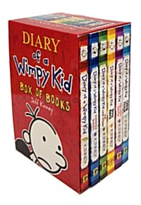 Diary of a Wimpy Kid 1-6 Box Set (6권, Paperback)