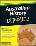 Australian History for Dummies (Paperback)