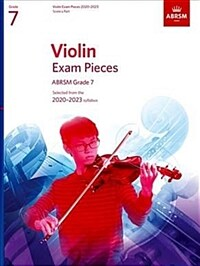 Violin Exam Pieces 2020-2023, ABRSM Grade 7, Score & Part : Selected from the 2020-2023 syllabus (Sheet Music)