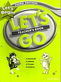 Lets Begin: Teachers Book (Paperback)