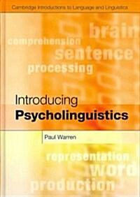 Introducing Psycholinguistics (Hardcover)