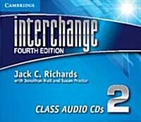 Interchange Level 2 Class Audio CDs (3) (CD-Audio, 4 Revised edition)