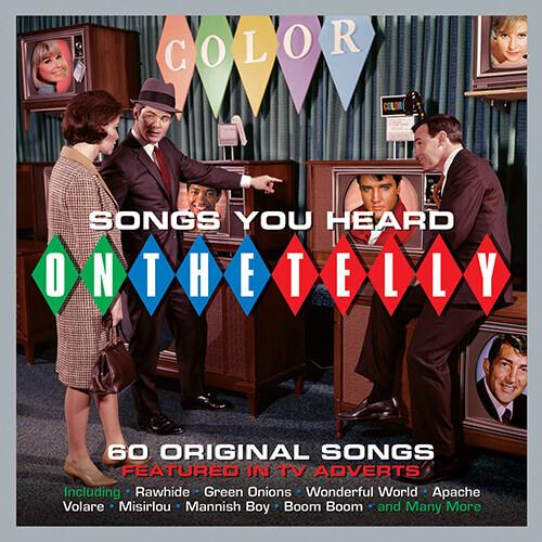 [수입] Songs You Heard On The Telly (락앤롤 TV 광고 음악 모음집) [3CD]