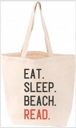 Eat. Sleep. Beach. Read. Tote (Other)