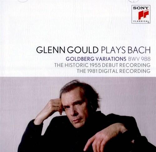 [수입] 글렌 굴드가 연주하는 바흐 : 골드베르크 변주곡 [2CD 합본반]