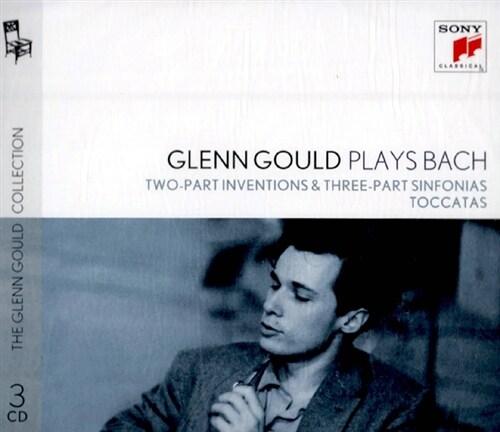 [수입] 글렌 굴드가 연주하는 바흐 : 인벤션과 신포니아, 토카타 [3CD]