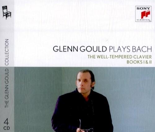 [수입] 글렌 굴드가 연주하는 바흐 : 평균율 전집 1, 2권 BWV 846-893 [4CD]