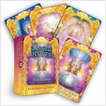 Angel Answers Oracle Cards: A 44-Card Deck and Guidebook (Cards, Multi-colored)