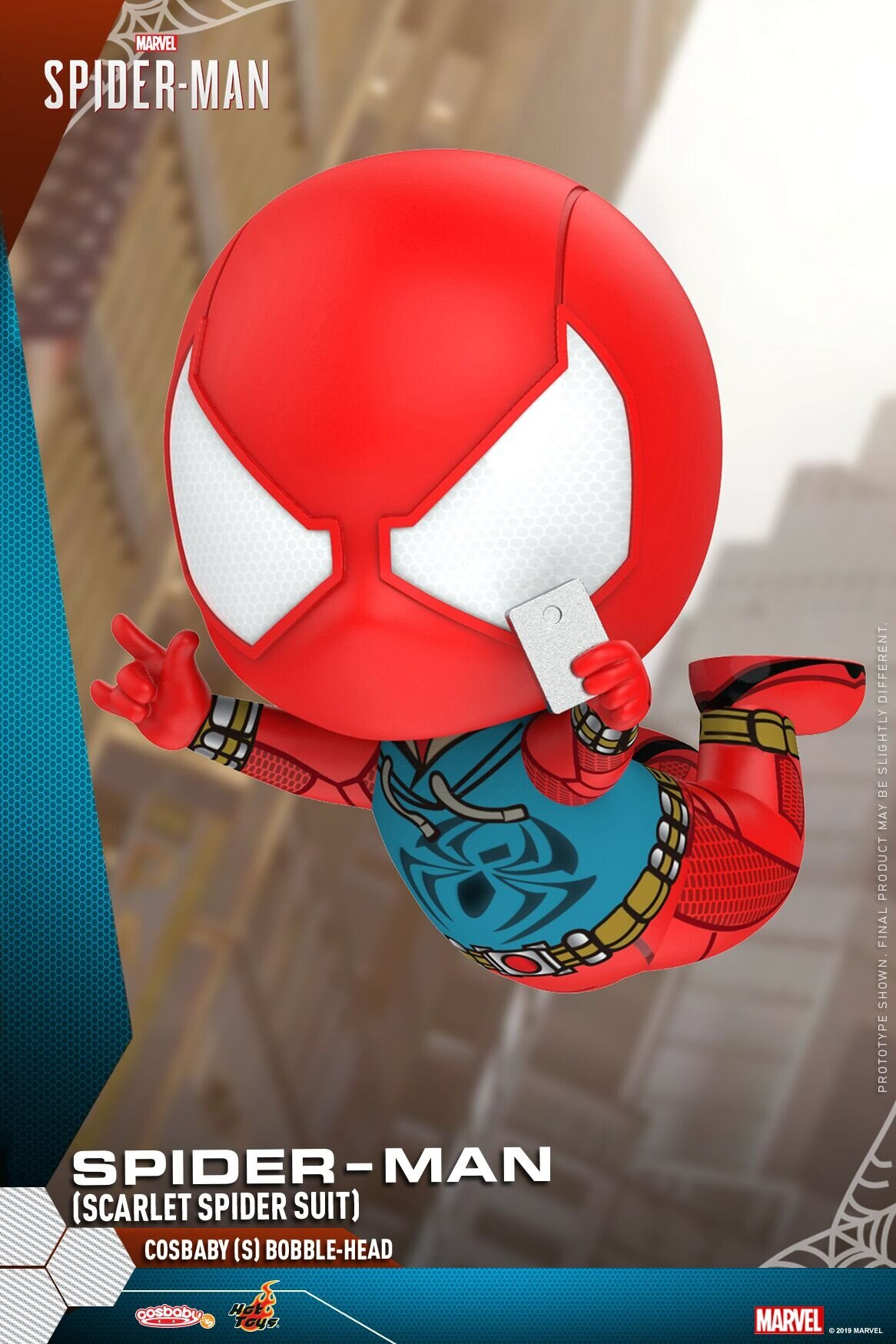 [Hot Toys] 코스베이비 스파이더맨 Scarlet Spider Suit Ver. COSB620