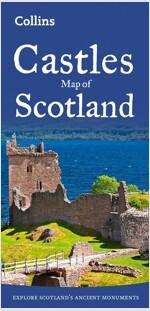 Castles Map of Scotland (Sheet Map, folded, New ed)
