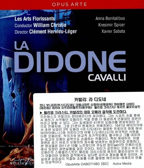 [수입] [블루레이] 카발리 : 라 디도네