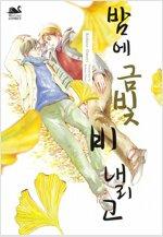 [고화질] [BL] 밤에 금빛 비 내리고