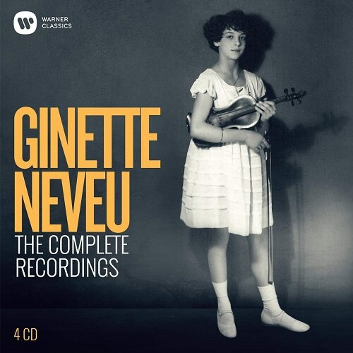 [수입] 지네트 느뵈 - EMI 녹음 전집 (탄생 100주년 기념발매) [4CD 한정반]