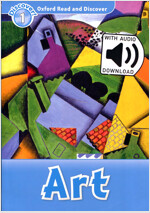 Read and Discover 1: Art (with MP3) (Paperback + MP3 download card )