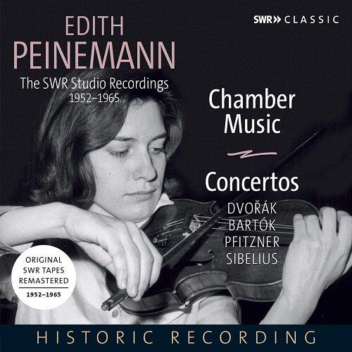 [수입] 에디트 파이네만 - SWR 스튜디오 레코딩 1952-1965 [5CD]