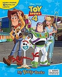 Disney Pixar Toy Story 4 My Busy Book 토이스토리 4 비지북