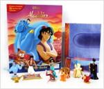Disney Pixar Aladdin My Busy Books 알라딘 비지북 (미니피규어 10개 + 놀이판)