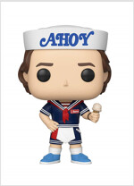 Pop Stranger Things Steve with Hat and Ice Cream Vinyl Figure (Other)