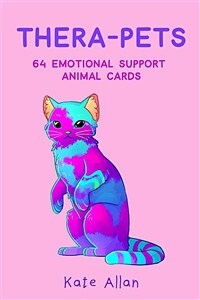 Thera-Pets: 64 Emotional Support Animal Cards (Self-Esteem, Affirmations, Help with Anxiety, Worry and Stress) (Other)