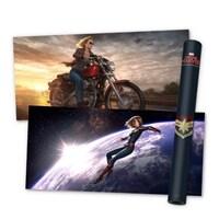 마블 스튜디오 캡틴 마블 포스터 컬렉션 2 (5장 + 지관통)