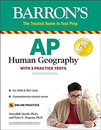 AP Human Geography: With 3 Practice Tests (Paperback, 8)
