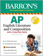 AP English Literature and Composition: With 7 Practice Tests (Paperback, 8)