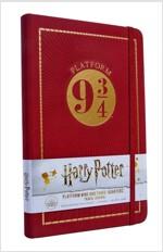Harry Potter: Platform Nine and Three Quarters Travel Journal (Hardcover)