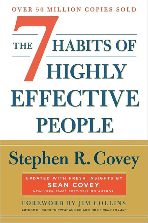 The 7 Habits of Highly Effective People: 30th Anniversary Edition (Paperback, 30, Anniversary)