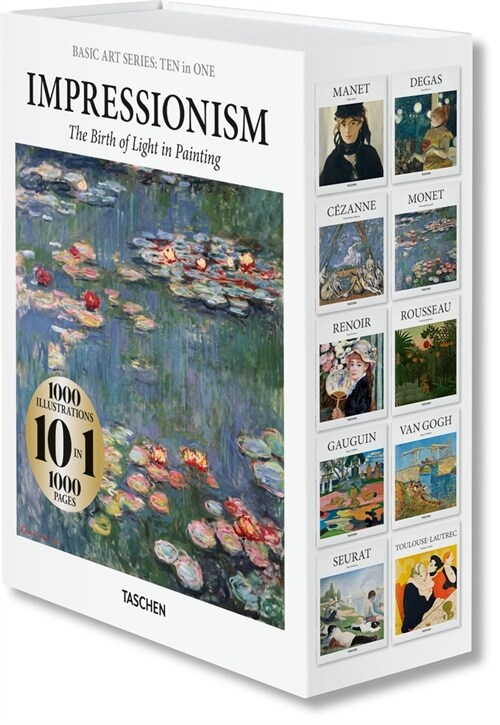Basic Art Series: Ten in One. Impressionism (Hardcover)