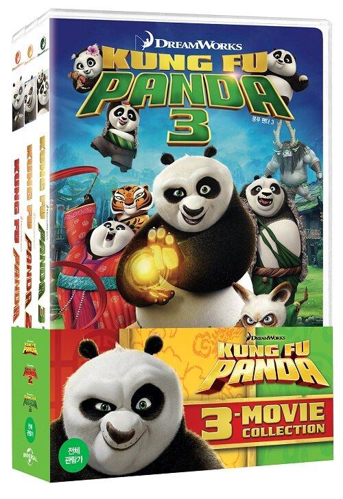 쿵푸팬더 : 3-Movie 콜렉션 (3disc)