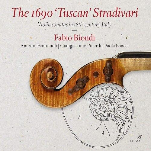 [수입] 1690년제 투스칸 스트라디바리 - 18세기 이탈리아 바이올린 소나타들