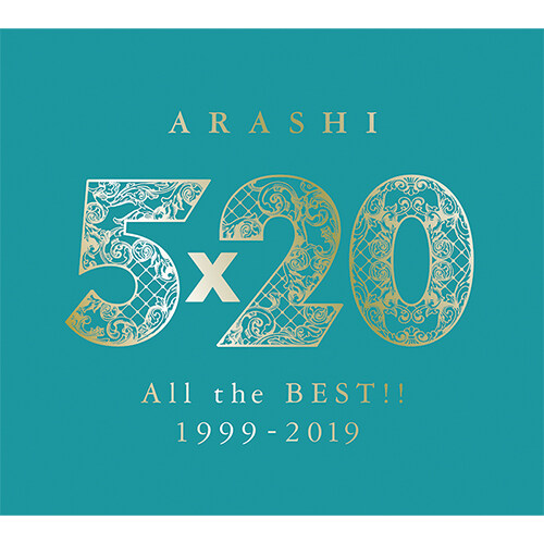 Arashi - 5×20 All the BEST!! 1999-2019 [초회한정반2] [4CD+DVD] [5단 디지팩]