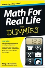 Math for Real Life for Dummies (Paperback)