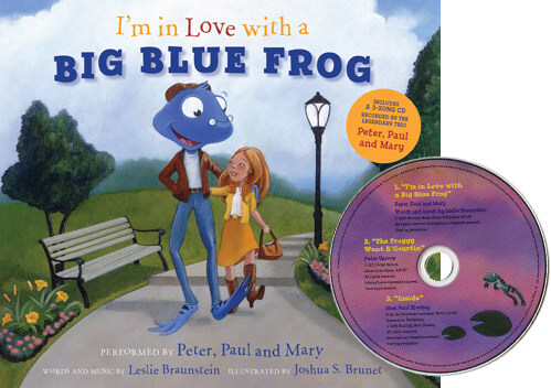 Im in Love with a Big Blue Frog [With CD (Audio)] (Hardcover)