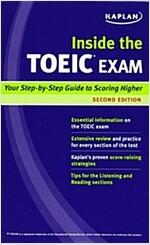 Kaplan Inside the TOEIC Exam (Paperback, 2)