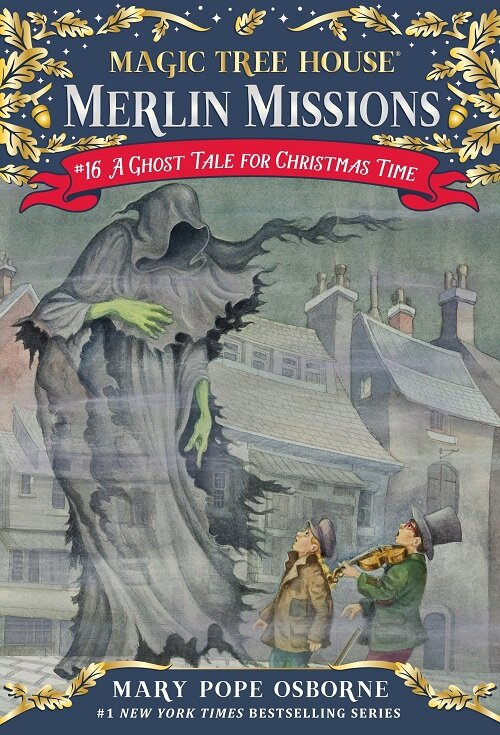 Merlin Mission #16 : A Ghost Tale for Christmas Time (Paperback)