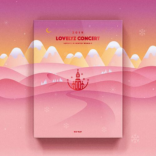 [블루레이] 러블리즈 - 2019 LOVELYZ CONCERT [겨울나라의 러블리즈3] (2disc)