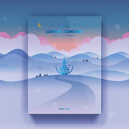 [키트 형태] 러블리즈 - 2019 LOVELYZ CONCERT [겨울나라의 러블리즈3] [KIHNO VIDEO]