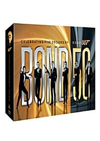 [블루레이] 본드 50 : 007 시리즈 50주년 기념 한정판 박스세트 (23disc)