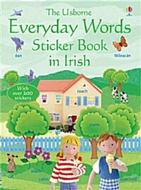 Everyday Words in Irish Sticker Book (Paperback, New ed)